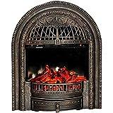 Un calentadorUn ventilador de calefacción Eléctrica chimenea - cocina eléctrica con control remoto 750W 1500W temperatura ajustable decoración chimenea con efecto de plata grabadora de registro