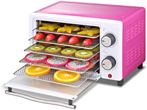 Déshydrateur thermostatique réglable de ménage pour déshydrateur alimentaire 12H à minuterie 35 ℃ ~ 75 º Purple + White 5-...