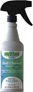 H8eraide Boat Hull Cleaner 32oz - Powerful Results Without The Harsh acids and fuming. 100% Biodegradable. Removes scum Lines and Barnacle Glue with Ease!