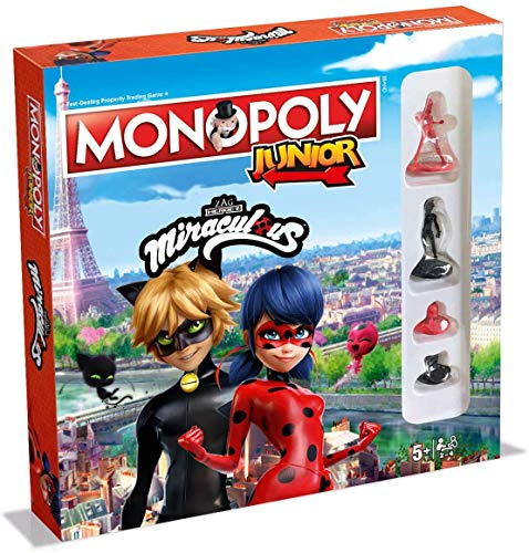 Winning Moves Miraculous Monopoly Junior Board Game