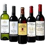 メルシャン 15年連続ワインコンクールでメダル獲得のシャトー・ペイ・ラ・トゥール含む シャトーワイン5本セット 750ml×5