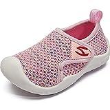 YISIQ Chaussons Bébé Enfant Garçons Pantoufle Fille antidérapante Chaussures Mixte Enfant Bébé Chaussons Chaussures Premiers Pas Bébé Légér Respirant Rose 27 EU
