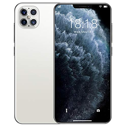 I12pro SIM Freies Entsperrt 4G Smartphone, FullView 19:9 Display mit 18MP Kamera, 5000MAH, 12GB RAM / 512GB Lagerung und Android 10,0