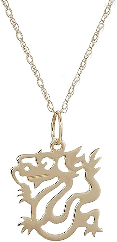 14k Yellow Gold Necklace With 16