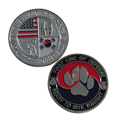 51st SFS Osan AB, Republic of Korea K-9 Challenge Coin