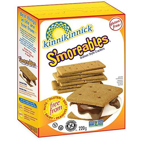 Kinnikinnick S'Moreable Graham Crackers, 8 oz