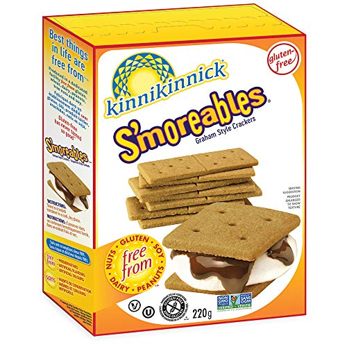 Kinnikinnick S'moreables, Graham Style Crackers ,8 Ounce