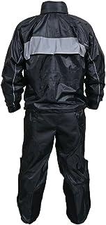 Rain Suit Men's, Heavy Duty Reflective Suit with Mesh Liner