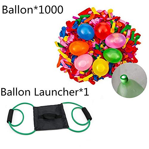 NAKELUCY Water Balloon Launcher Slingshot Toys Catapult Balloon Outdoor Party Water Game para niños y Adultos