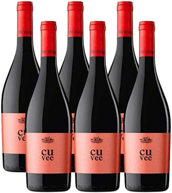Aliaga Cuvée 2016. Pack de 6 botellas. Vino tinto de Navarra de la Bodega Viña Aliaga de tempranillo y cabernet sauvignon