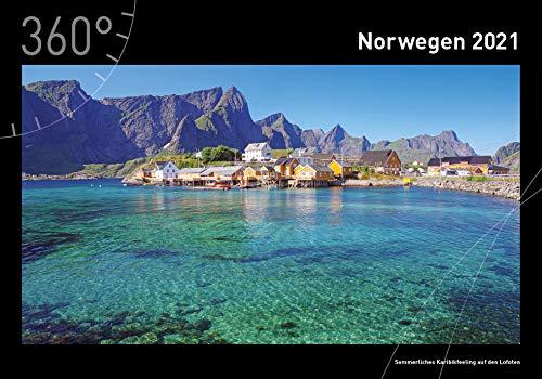 360° Norwegen Premiumkalender 2021 (360° Premiumkalender 2021)