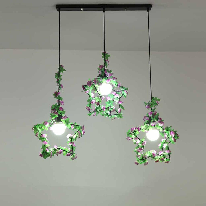 STAGE lumièreING Lustre à cinq branches Star Plant éclairage Nordic Lamps Simple Personnalité Creative Lustres (Couleur   B)