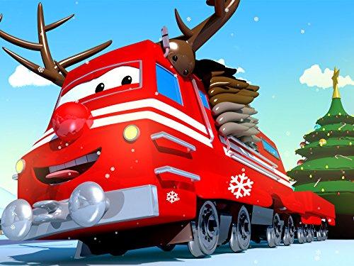 【Weihnachten】Schlittschuh Party / Der Rentier Zug macht den gefährliche Tunnel wieder sicher / Der Magnetzug eilt zur Rettung / Troy die gehende Brücke