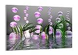 Impression sur Verre - Image sur Verre - Un élément - 100x70cm - 2329 - Tableaux pour la Mur - prete a Suspendre - Tableau en Verre - Motif Moderne - Décoration - Pret a accrocher - GAA100x70-2329