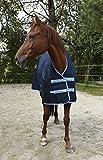 Kerbl 328665 Outdoordecke Protect Highneck, Marineblau/hellblau