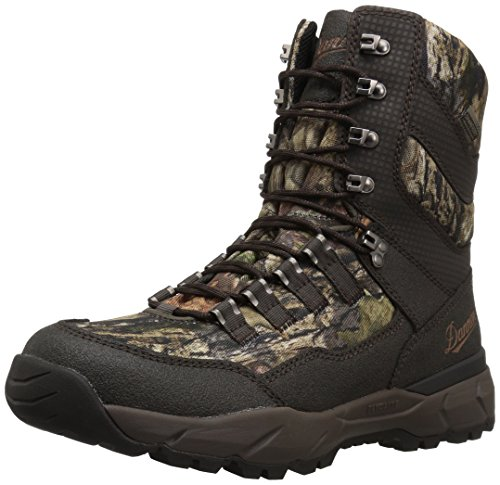 "Danner Men's 41552 Vital 8"" Insulated 400G Hunting Shoe, Mossy Oak Break-Up Country - 12 M"