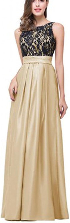 ZafeeFreely Elegant Women Dress Sleeveless VBack Empire Waist Wedding Party Maxi Dresses
