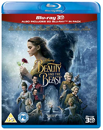 Beauty & The Beast [Blu-ray 3D + Blu-ray 2D] [2017] [Region Free]
