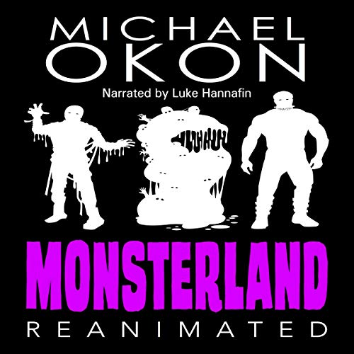 Monsterland Reanimated audiobook cover art