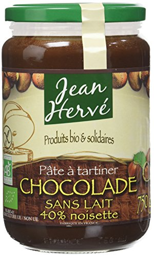 Jean Hervé Pâte à Tartiner Chocolade sans Lait 750 g