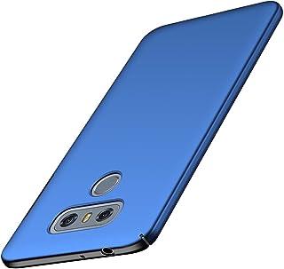 ORNARTO Funda LG G6, LG G6 Carcasa [Ultra-Delgado] [Ligera] Mate Anti-arañazos y Antideslizante Protectora Sedoso Caso para LG G6 (2017) 5.7'Azul
