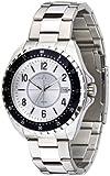 Police P13669JS-04M - Reloj analógico de Cuarzo para Hombre con Correa de Acero Inoxidable, Color Plateado