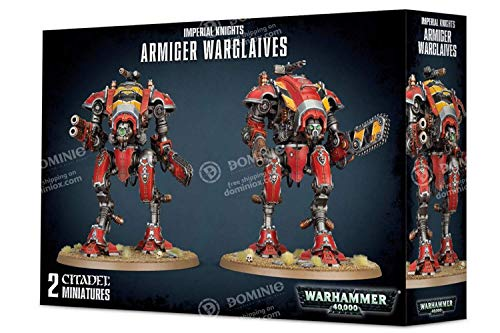 Warhammer 40,000 Imperial Knights Armiger Warglaives Miniature