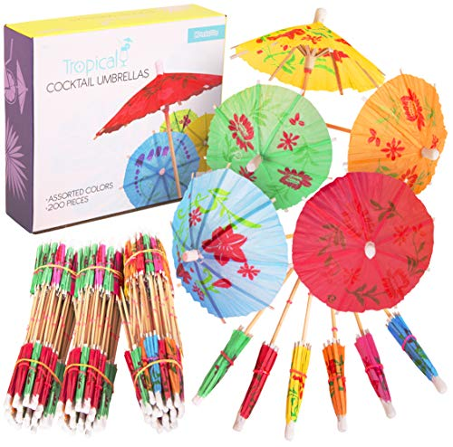 Kangaroo's Tropical Luau Umbrella (200 Count)