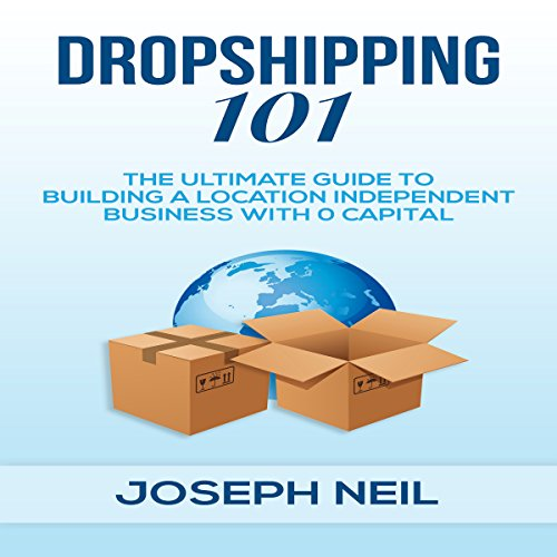 Dropshipping 101 audiobook cover art