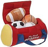 Baby GUND My First Sports Bag Stuffed Plush Playset, 8', 5 pieces