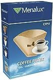 Menalux CFP4 – Filtro 1x4 para cafeteras de goteo, Papel