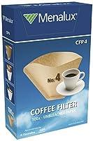 menalux 900256314 cfp4 filtri caffe in carta ecologica, 4 tazze