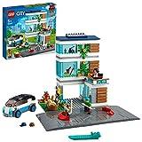 LEGO 60291 City Casa Familiar Casa de Muñecas Moderna con Placas de Carretera, Set de Construcción para Niños y Niñas