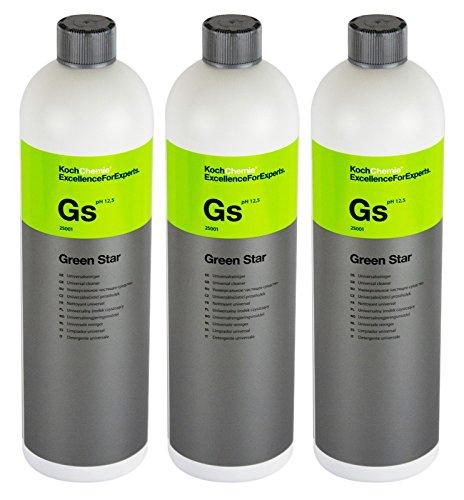 Koch Chemie 3X GS Green Star Universalreiniger Universal Reiniger Pflege 1 Liter