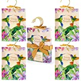DERDUFT Scented Sachet, Vanilla & Coconut Scent, Fragrance for drawer, wardrobe and car, Gift Set for House-warming Party, Mother's Day and Christmas, 4 x 30g