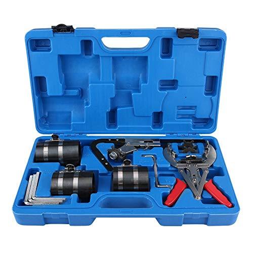 Kolbenringwerkzeug mit Box, Kolbenringzange, Ringzange, Ringdehner, Kompressor, Kolbenring, Rostschutz, Korrosionsschutz