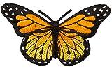 Simplicity Iron-On Appliques Monarch Butterfly 3' X1-3/4 1/Pkg, 3' x 1.75', Multicolor