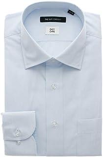 (ザ・スーツカンパニー) ワイドカラードレスシャツ ストライプ 〔EC・BASIC〕 サックスブルー×ホワイト