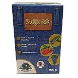 AGRIBIOS ZOLFO 80, Prodotto Biologico, Cura E PREVIENE Le CARENZE di ZOLFO, 200 GR