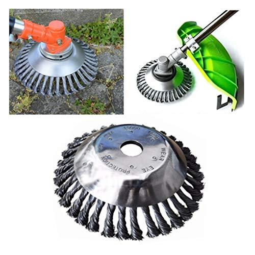 Cepillo de alambre para taza, cepillo de rueda de alambre, cepillo de copa con nudos para amoladora angular, acero inoxidable