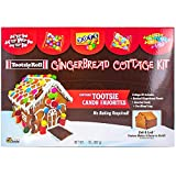 Gingerbread Cottage or House Kit (Tootsie Roll)