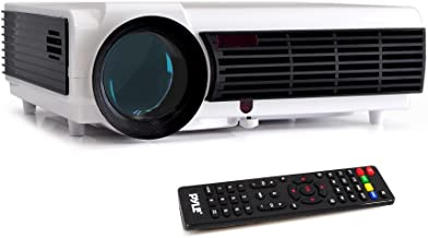 Pyle Video Projector 1080P Full HD Professional Cinema Home Theater Projection, Digital..