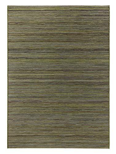 bougari In- und Outdoor Teppich Lotus Grün, 80x240 cm