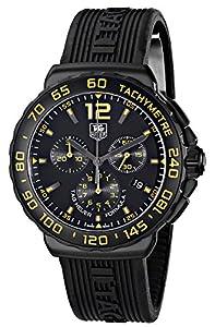 TAG Heuer Men's CAU111E.FT6024 Formula 1 Quartz Watch with Black Rubber Band image