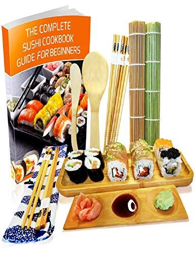 Kit para Hacer Sushi - Esterilla de Enrollar Sushi de Bamb