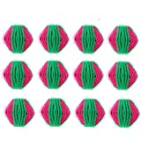 Pet Hair Remover Balls for Laundry, Lint Remover Balls - Non-Toxic Reusable Dryer Balls Washer and Dryer Ball Remove Long Hair from Dogs and Cats on Clothes in The Washing Machine 12 Packs