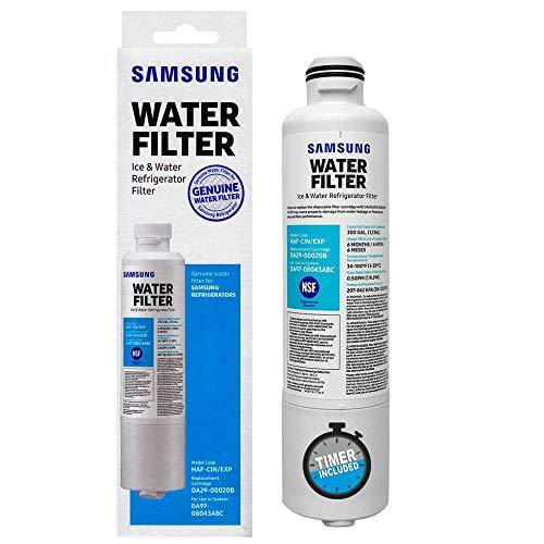 Filtro de Agua DA2900020B Original para Refrigeradores Samsung | Inventario en México | Incluye Garantía y Cronómetro para monitorear tu filtro | S1OX