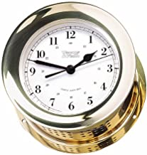 Weems & Plath Atlantis Collection Quartz Ship's Bell Clock (Brass)