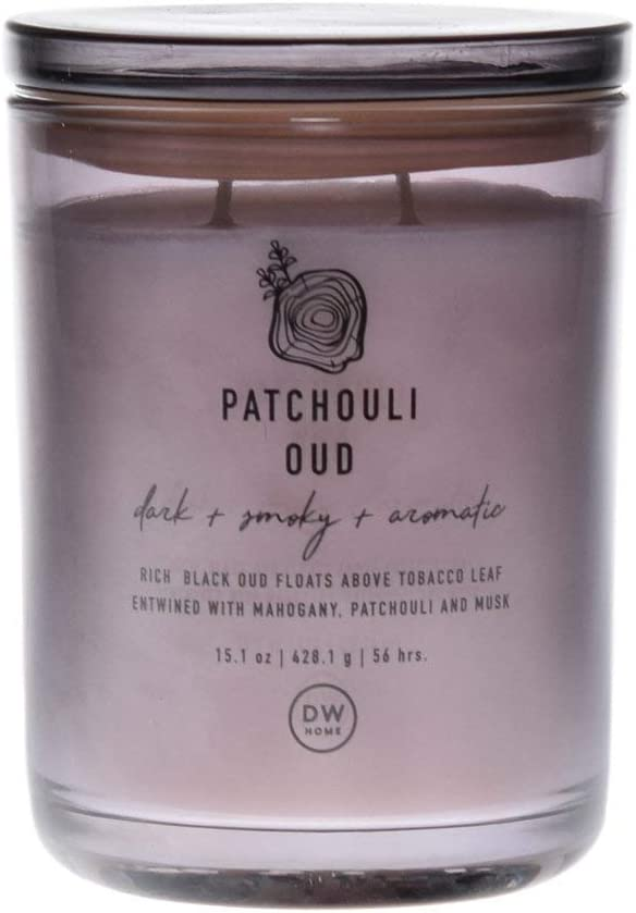 DW Home Double Wick Patchouli Oud Candle