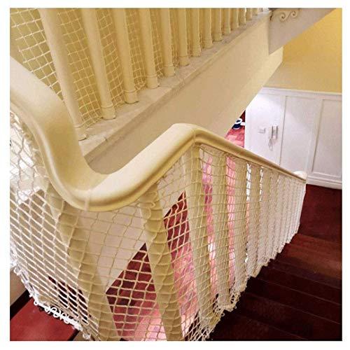 ZzWwYy Red de Seguridad celosía Juguete Gatos Gatos escaleras Red de Seguridad barandilla balcón protección contra caídas Redes de Seguridad-1 * 2m(3 * 7ft)